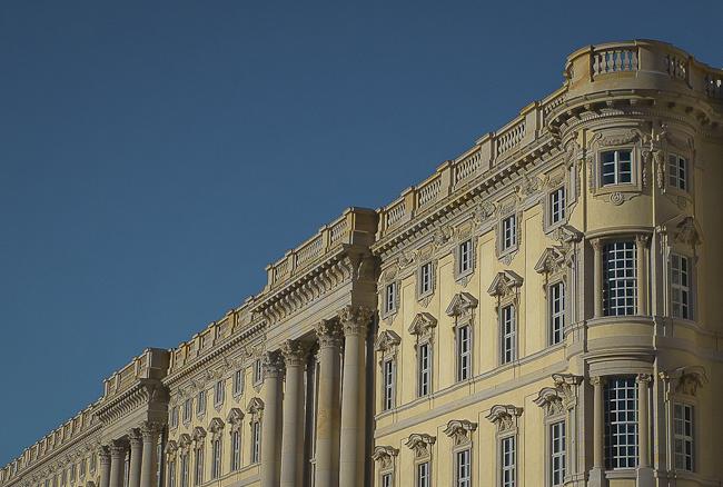 Barockfassade am Berliner Schloss,  berlininfo Foto: Christian Hajer