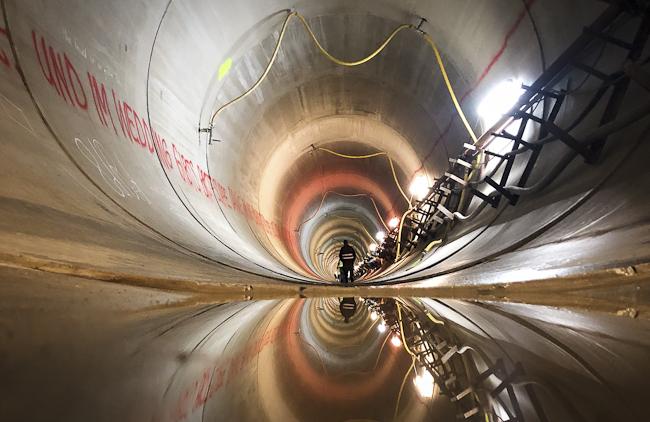 Stauwasserkanal Berliner Wasserwerke berlininfo Fachführungen berlininfo guided tours - Foto: Christian Hajer