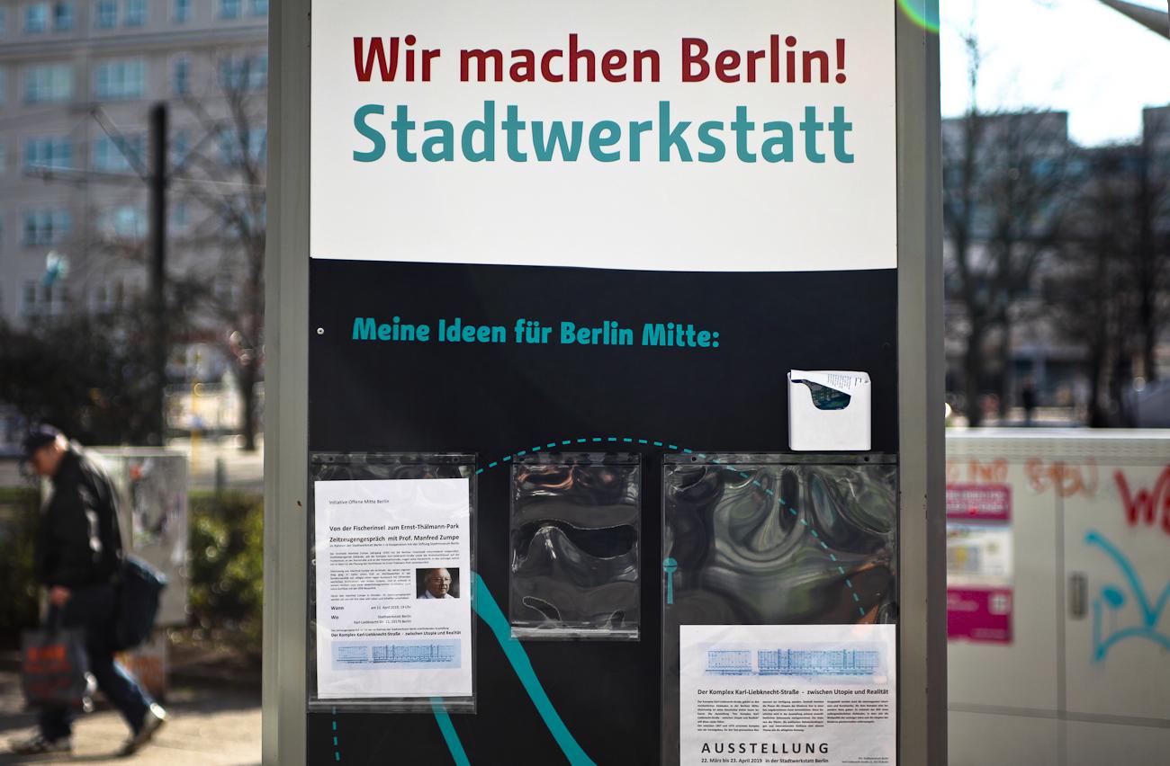 Stattwerkstatt Berlin Karl-Liebknecht-Straße berlininfo-Führungen zu Stadtentwicklung und Architektur in Berlin