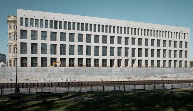 Fassade Humboldt Forum Berlin