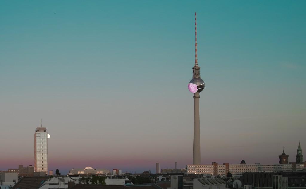 Skyline mit Fernsehturm
