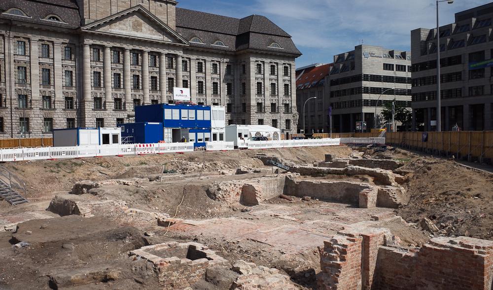Excavations Berlin Molkenmarkt berlininfo
