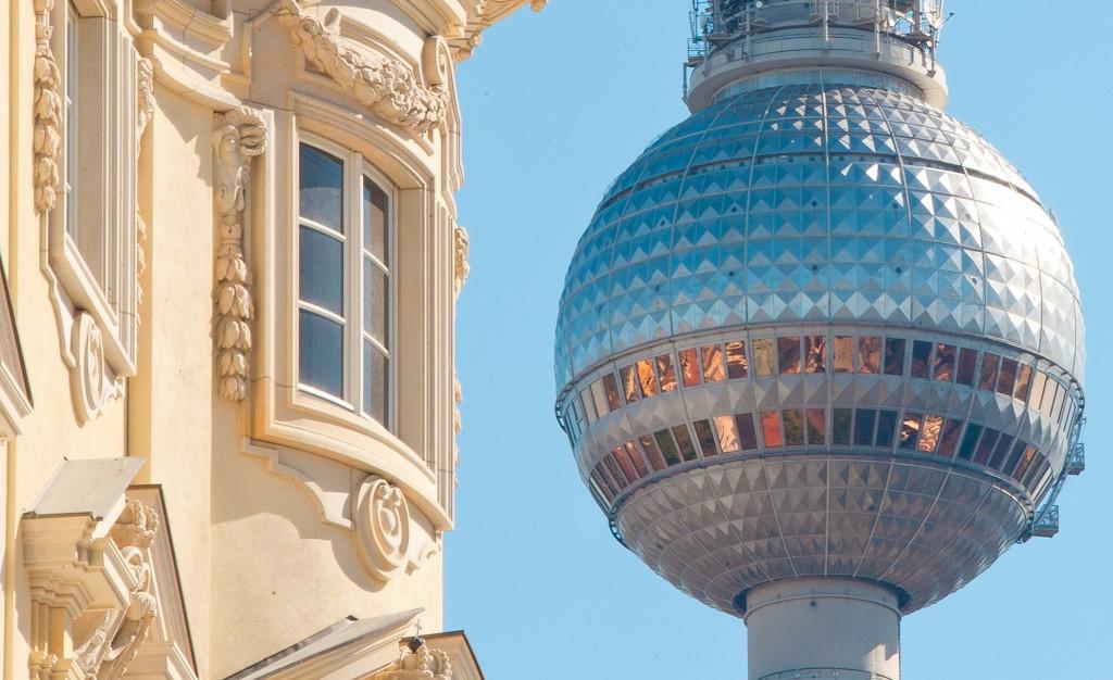 Stadtschloss Berlin Humboldt Forum Fernsehturm